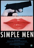 Simple Men - German Movie Poster (xs thumbnail)