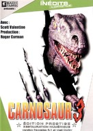 Carnosaur 3: Primal Species - French DVD movie cover (xs thumbnail)