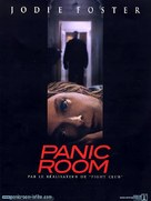 Panic Room - French Movie Poster (xs thumbnail)
