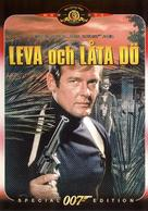 Live And Let Die - Swedish DVD movie cover (xs thumbnail)