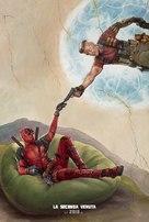 Deadpool 2 - Italian Movie Poster (xs thumbnail)