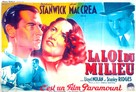 Internes Can't Take Money - French Movie Poster (xs thumbnail)