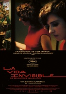 A Vida Invisível - Spanish Movie Poster (xs thumbnail)
