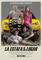 Logan Lucky - Argentinian Movie Poster (xs thumbnail)