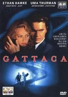 Gattaca - German DVD movie cover (xs thumbnail)