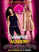 Vampire Academy - French Movie Poster (xs thumbnail)