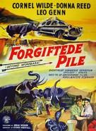 Beyond Mombasa - Danish Movie Poster (xs thumbnail)
