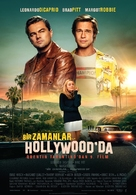 Once Upon a Time in Hollywood - Turkish Movie Poster (xs thumbnail)