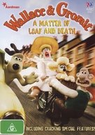 Wallace and Gromit in 'A Matter of Loaf and Death' - Australian DVD movie cover (xs thumbnail)