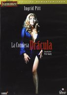 Countess Dracula - Spanish Movie Cover (xs thumbnail)