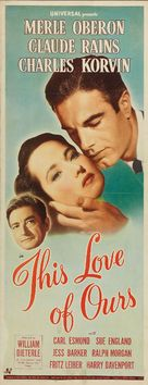 This Love of Ours - Movie Poster (xs thumbnail)