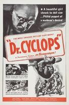 Dr. Cyclops - Re-release poster (xs thumbnail)