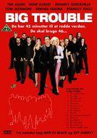 Big Trouble - Danish DVD cover (xs thumbnail)