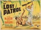 The Lost Patrol - British Movie Poster (xs thumbnail)
