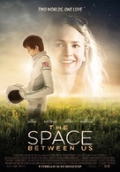The Space Between Us - Dutch Movie Poster (xs thumbnail)