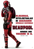 Deadpool - Lithuanian Movie Poster (xs thumbnail)