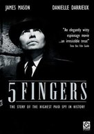 5 Fingers - Movie Poster (xs thumbnail)