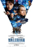 Valerian and the City of a Thousand Planets - Estonian Movie Poster (xs thumbnail)