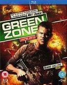 Green Zone - British Blu-Ray movie cover (xs thumbnail)