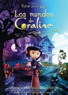 Coraline - Spanish Movie Poster (xs thumbnail)