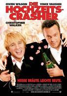 Wedding Crashers - German Movie Poster (xs thumbnail)