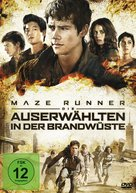 Maze Runner: The Scorch Trials - German Movie Cover (xs thumbnail)