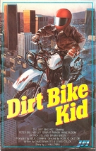 The Dirt Bike Kid - Finnish VHS movie cover (xs thumbnail)
