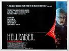 Hellraiser - British Movie Poster (xs thumbnail)