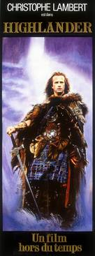 Highlander - French Movie Poster (xs thumbnail)
