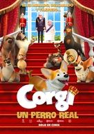 The Queen's Corgi - Colombian Movie Poster (xs thumbnail)