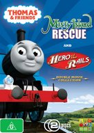 Thomas & Friends: Hero of the Rails - Australian DVD cover (xs thumbnail)