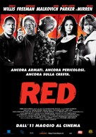 RED - Italian Movie Poster (xs thumbnail)