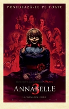 Annabelle Comes Home - Romanian Movie Poster (xs thumbnail)