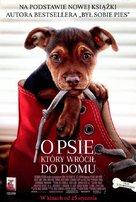 A Dog's Way Home - Polish Movie Poster (xs thumbnail)