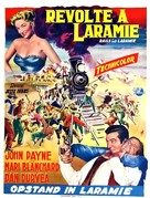 Rails Into Laramie - Belgian Movie Poster (xs thumbnail)
