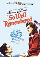 So Well Remembered - Movie Cover (xs thumbnail)