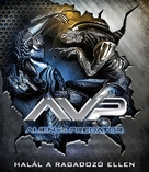 AVP: Alien Vs. Predator - Hungarian Blu-Ray cover (xs thumbnail)