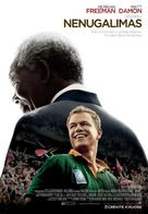 Invictus - Lithuanian Movie Poster (xs thumbnail)
