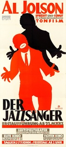 The Jazz Singer - Austrian Movie Poster (xs thumbnail)