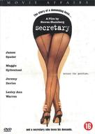 Secretary - Dutch DVD movie cover (xs thumbnail)