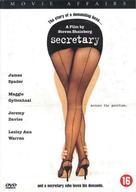 Secretary - Dutch DVD movie cover (xs thumbnail)