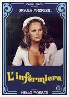 L'infermiera - Italian Theatrical movie poster (xs thumbnail)
