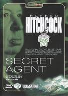 Secret Agent - Dutch DVD cover (xs thumbnail)