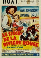 The Siege at Red River - Belgian Movie Poster (xs thumbnail)