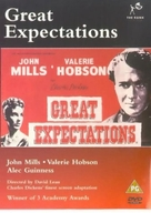 Great Expectations - British DVD cover (xs thumbnail)