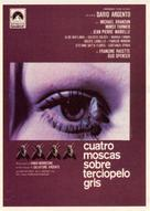 4 mosche di velluto grigio - Spanish Movie Poster (xs thumbnail)