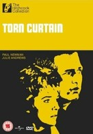 Torn Curtain - British DVD movie cover (xs thumbnail)