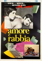 Amore e rabbia - Italian Movie Poster (xs thumbnail)