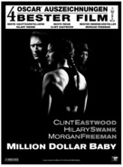 Million Dollar Baby - Swiss Movie Poster (xs thumbnail)