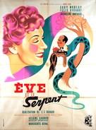 Ève et le serpent - French Movie Poster (xs thumbnail)